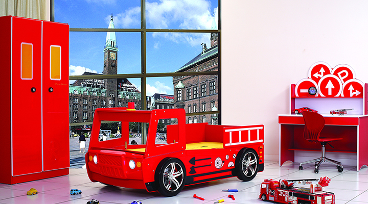 B136 Speedy Fire Engine Bed Collection