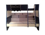 16209 Blue Flag Bunk Bed