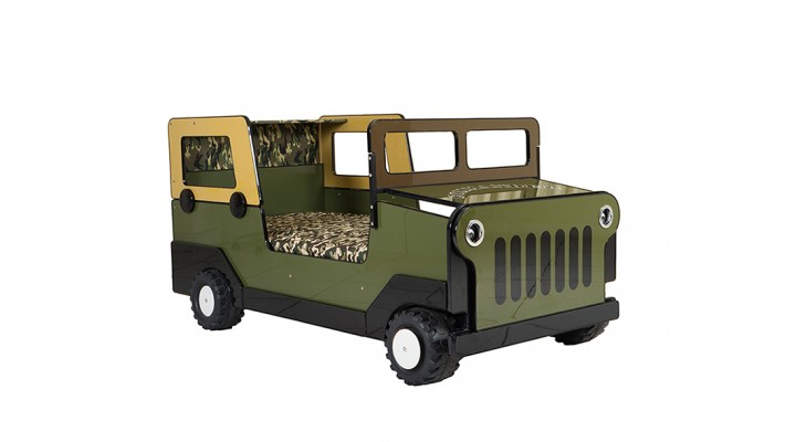 15501S  Commando Jeep Bed