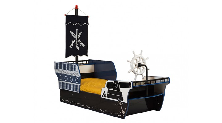 15601S Pirate Ship Bed