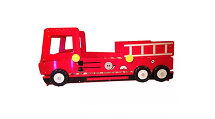 B136-2 Speedy Fire Engine Double Layer Bed