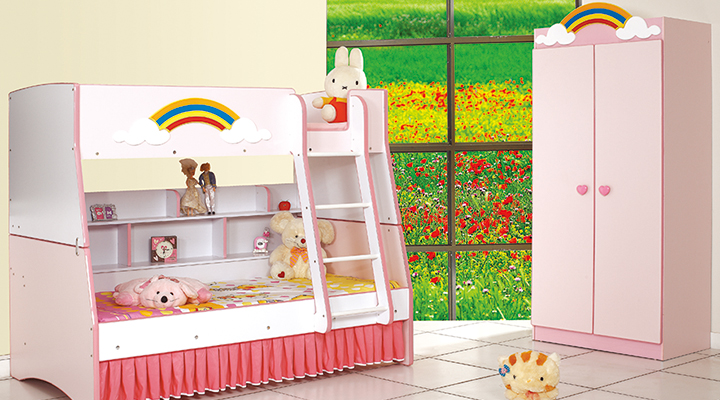 163 Rainbow Bunk Bed Collection