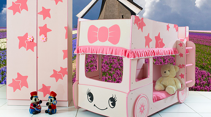 B135S Little Star Bus Bunke Bed Collection